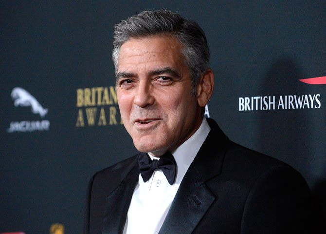 Stop stressing over grey hair. Greying can be sexy too. Ask George Clooney