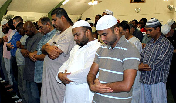A special Ramzan prayer -- Tarawih -- being conducted at Islamic Community Center of Phoenix, Arizona, US.