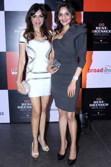 Queenie Singh and Madhoo