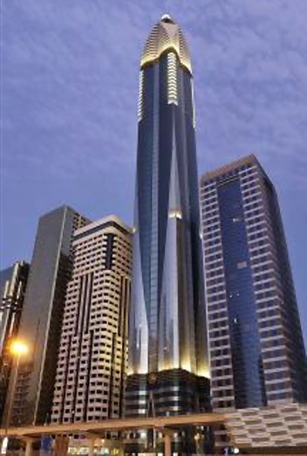 Rose Rayhaan by Rotana housed in Rose Tower, Dubai