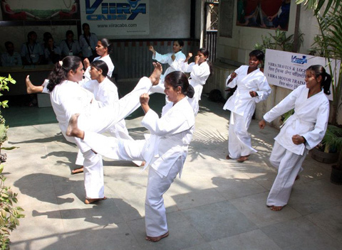Employees of Viira Cabs are trained in self defense
