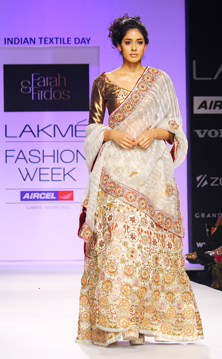 Red Hot: Aditi Rao and Vidya Malvade on the runway