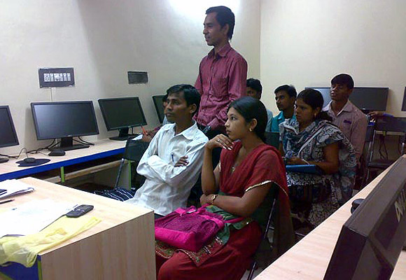 Students of IIJT undergoing training