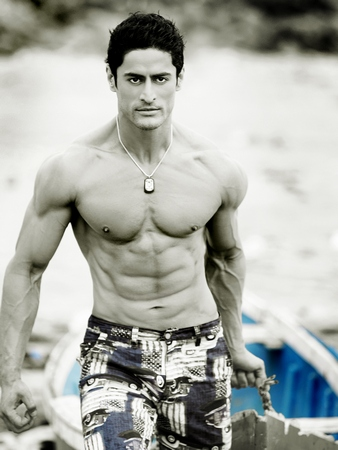Mohit Raina had to work on his physique for the show.