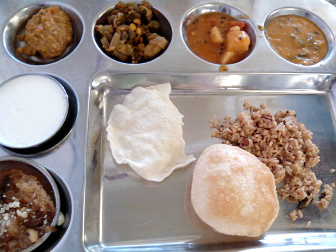 On a thali trail: Meandering through Delhi's state bhavans