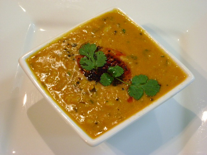 When making yellow dal, add freshly chopped ginger and green chillies after giving the tadka says Chef Chopra