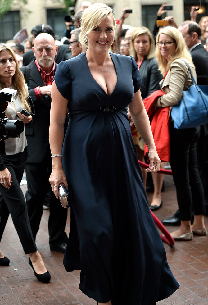 Actress Kate Winslet attends the Labor Day premiere during the 2013 Toronto International Film Festival at Ryerson Theatre on September 7, 2013 in Toronto, Canada.