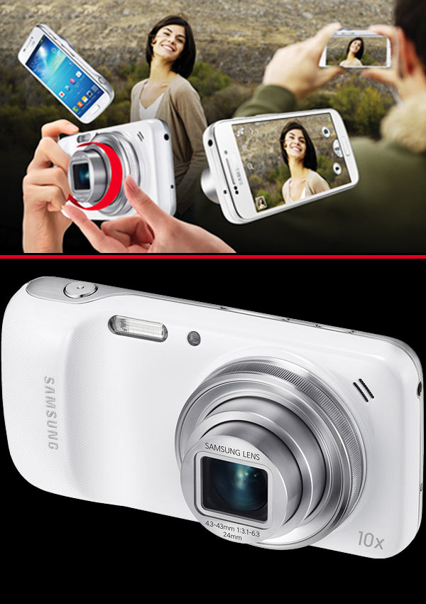 Phone or camera? Samsung Galaxy S4 Zoom put to test!