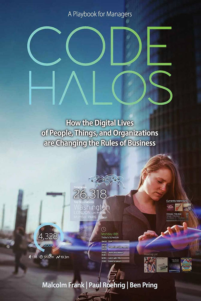Book cover of The Code Halos
