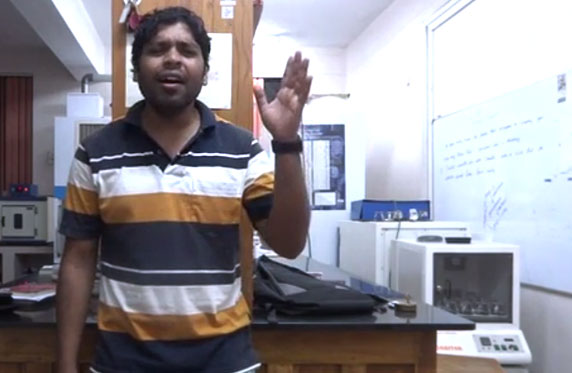 Sudhakar sings for his Valentine!