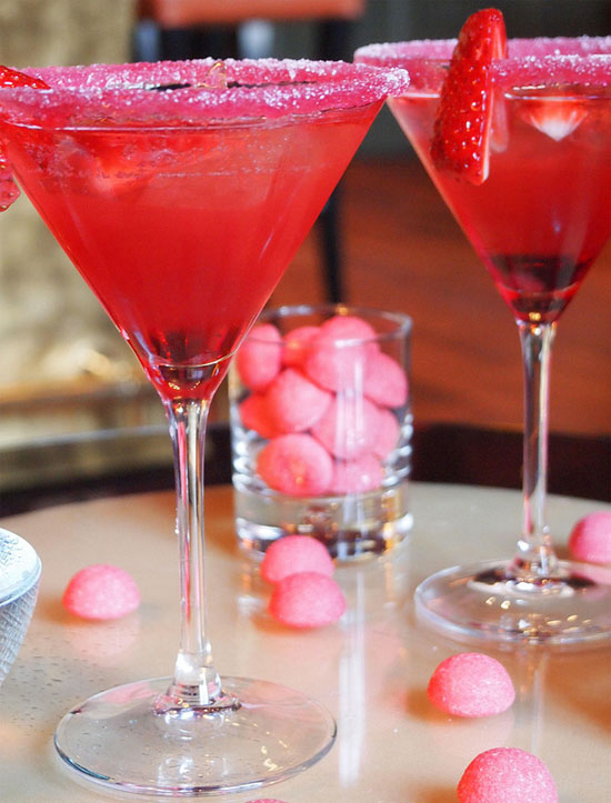 Top 10: Cocktail recipes for Valentine's Day