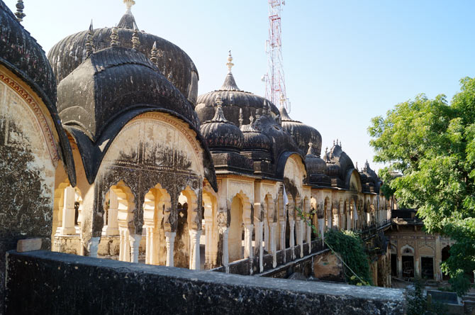 Domes of a haveli in Churu