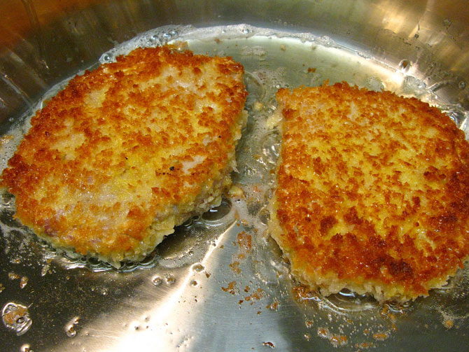 Rice and Vegetable Cutlet