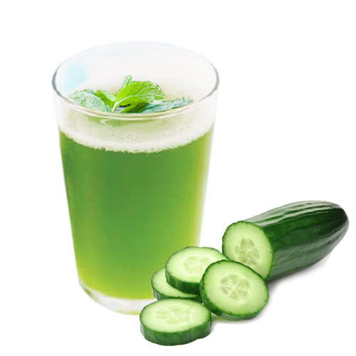Cucumber and mint mocktail