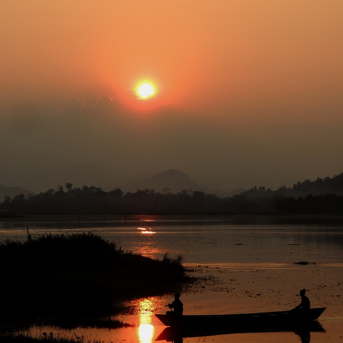 Chandubi Lake, Assam