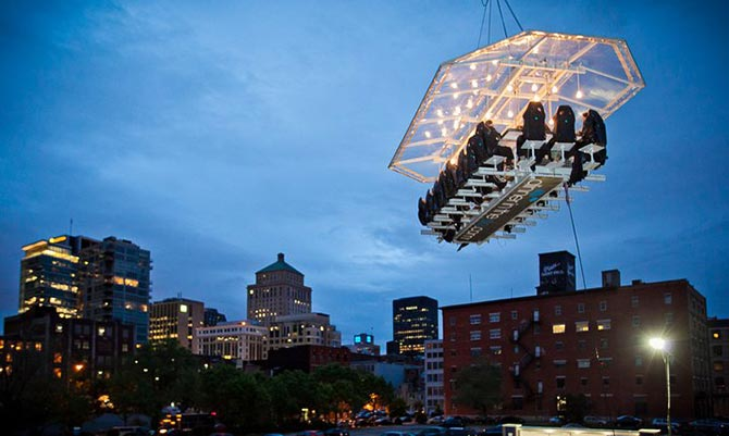 Dinner in the Sky, Montreal, Canada
