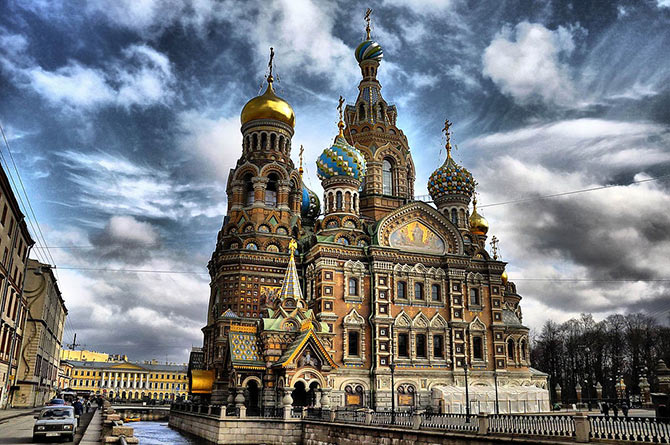 Church of Our Savior on Spilled Blood, Russia