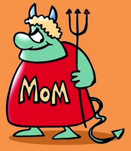 Is your husband's mum a monster-in-law?
