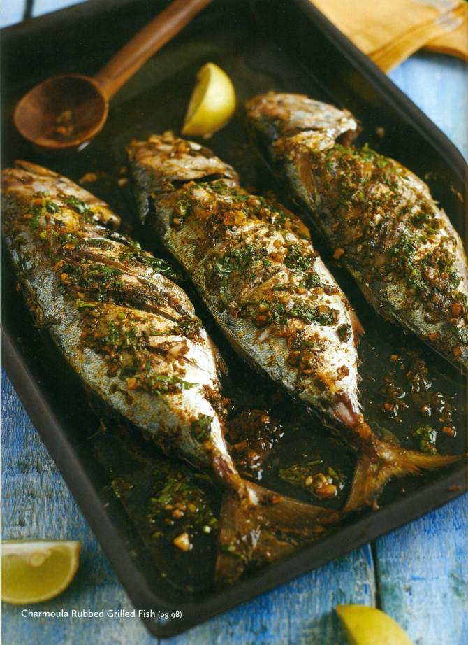 Charmoula Rubbed Grilled Fish