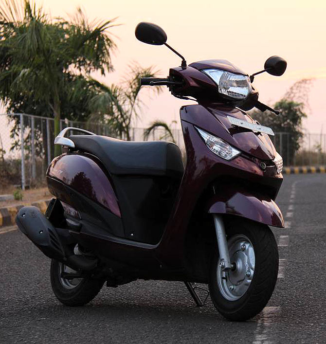 Ray Price Honda >> Yamaha Alpha: The latest competition to Honda Activa? - Rediff Getahead