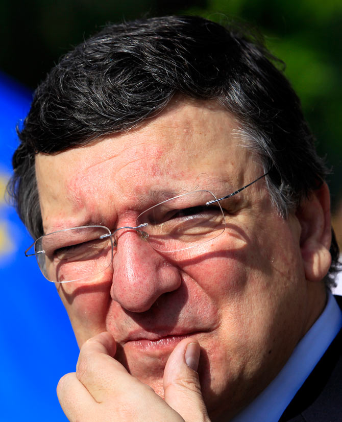 President of the European Union Commission, Jose Manuel Barroso