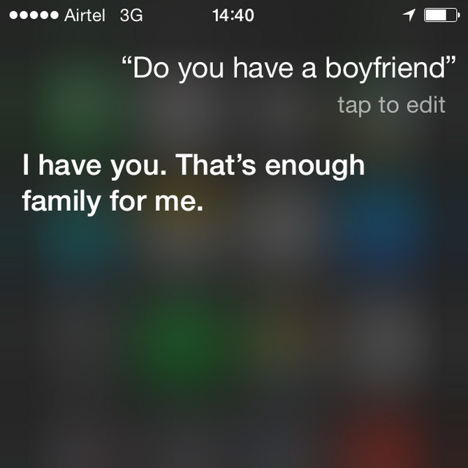 Hilarious conversations with iPhone's Siri