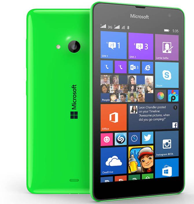10 things you must know about Microsoft Lumia 535