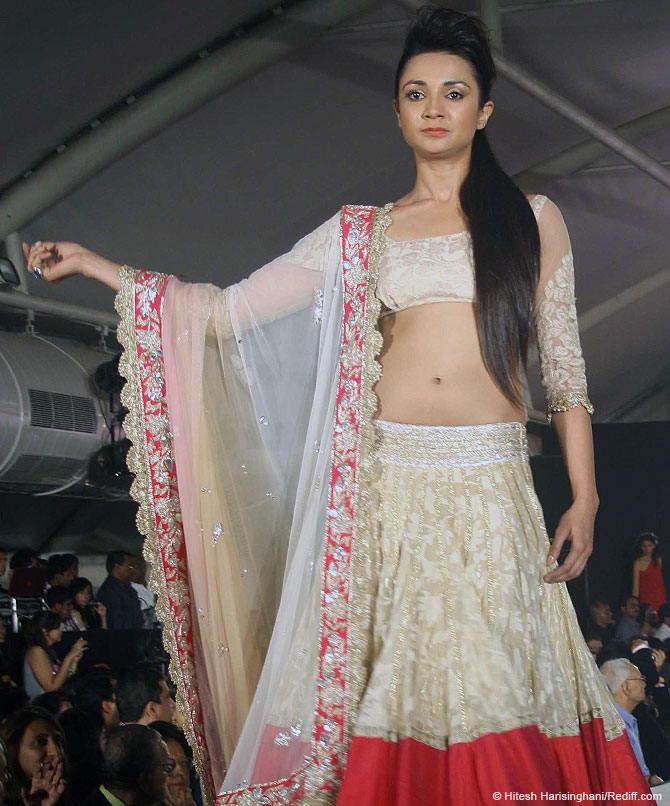 Ira Dubey walks for designer Manish Malhotra