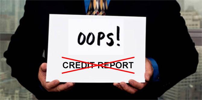 Credit report errors can cost you big!