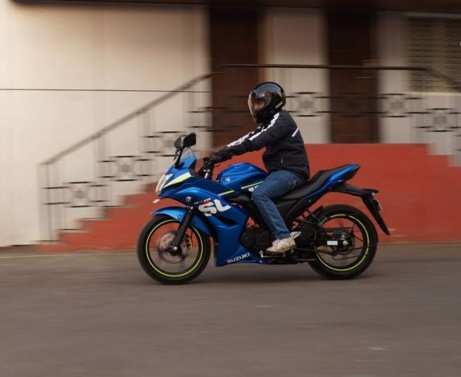 Gixxer SF is an impressive all rounder