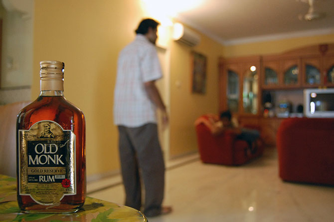 Old Monk preferred liquor brand among rich Indians