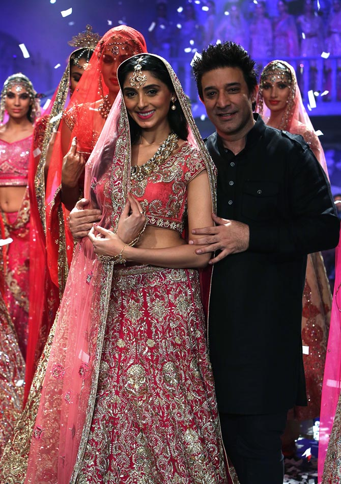 Suneet Varma with Pernia Qureshi