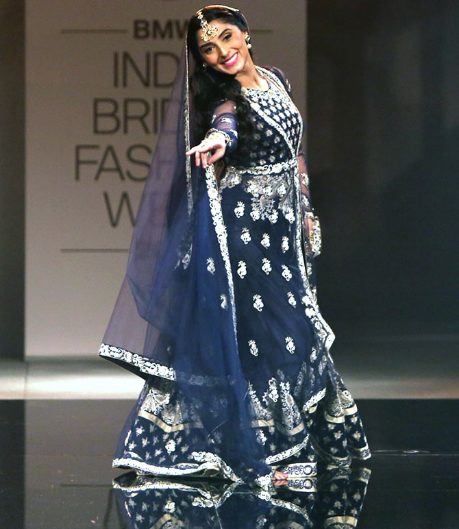 Pernia Qureshi in a Suneet Varma creation