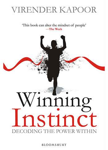 Book cover: Winning Instinct by Virender Kapoor