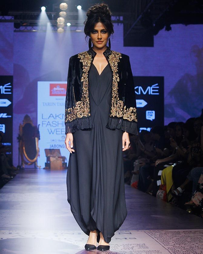 Chitrangada Singh walks for Tarun Tahiliani