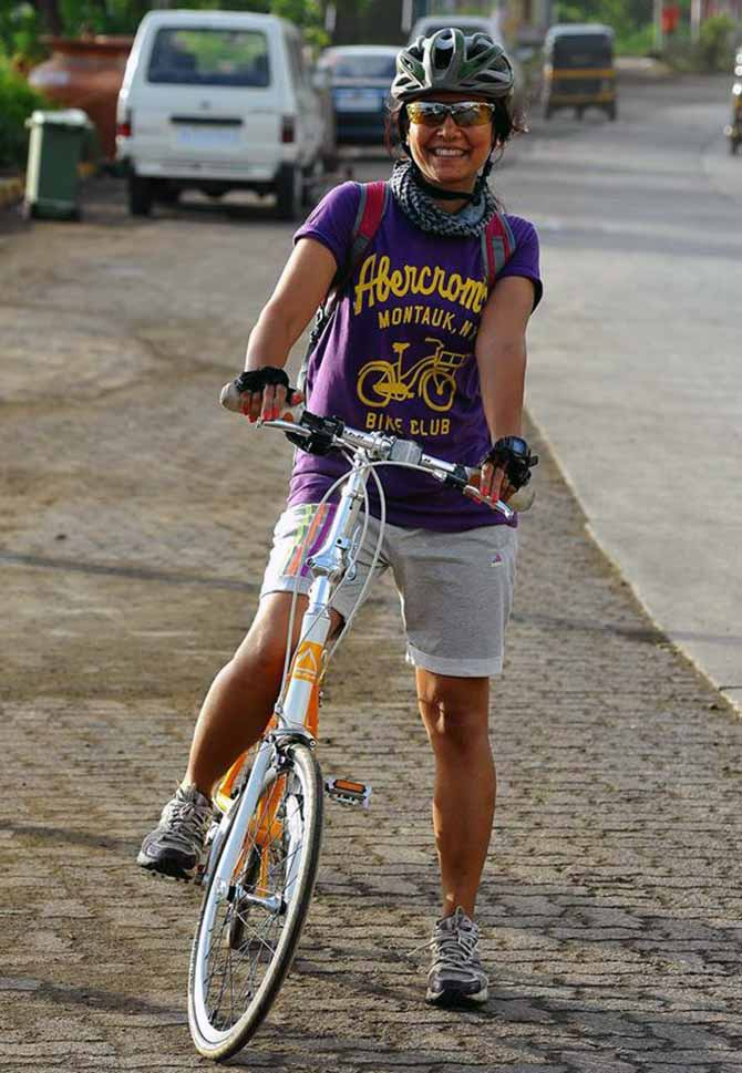Firoza Suresh, cycle-to-work