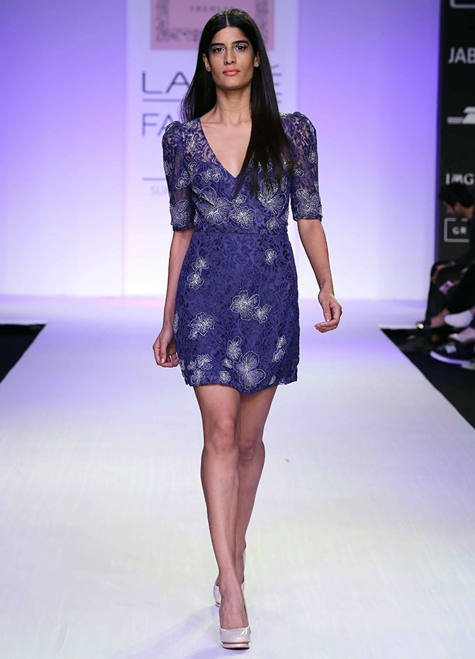 Hot debuts! Watch out for these LFW models - Rediff.com