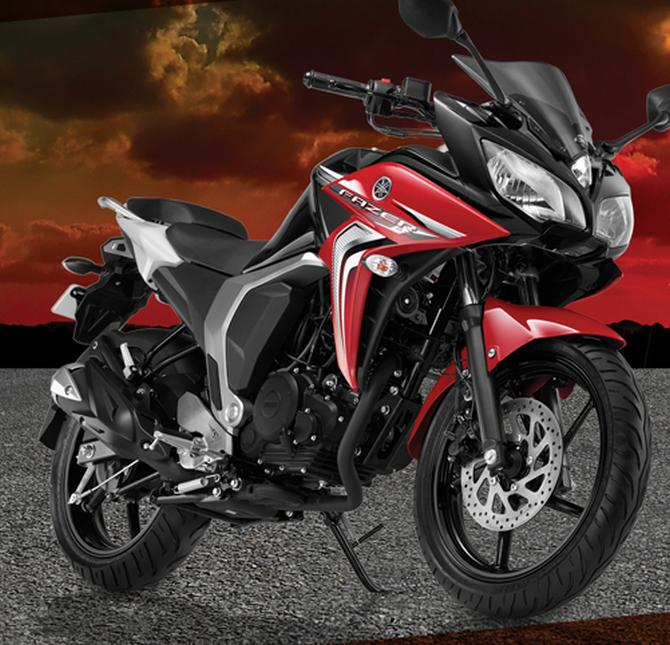 Top 8: 150cc bikes launched in 2014 - Rediff.com Get Ahead