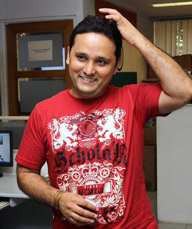 Amish Tripathi, author of <I>Scion Of Ikshvaku</I>