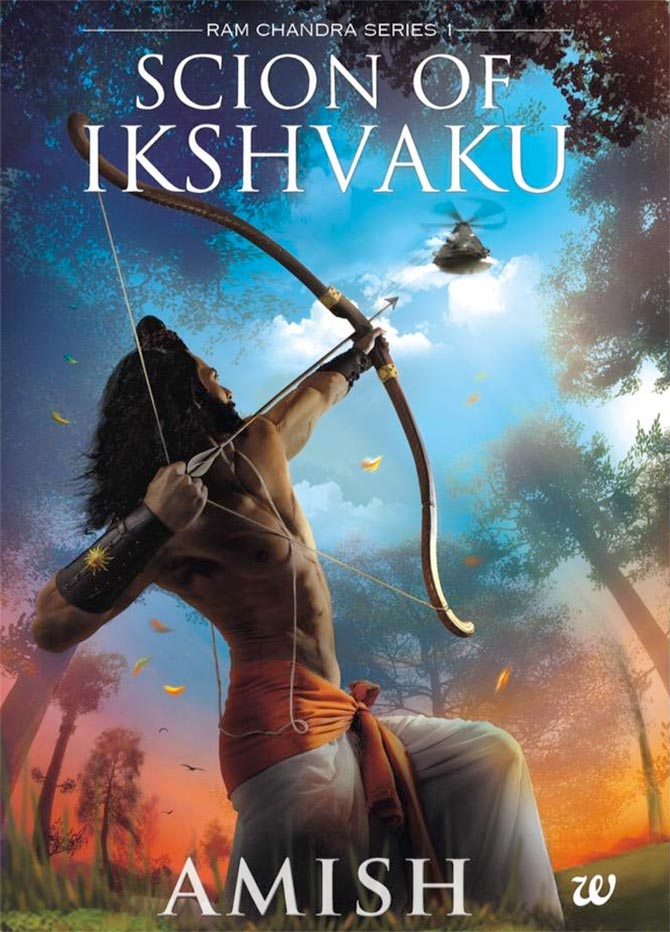 Cover photo of Amish Tripathi's book Scion Of Ikshvaku