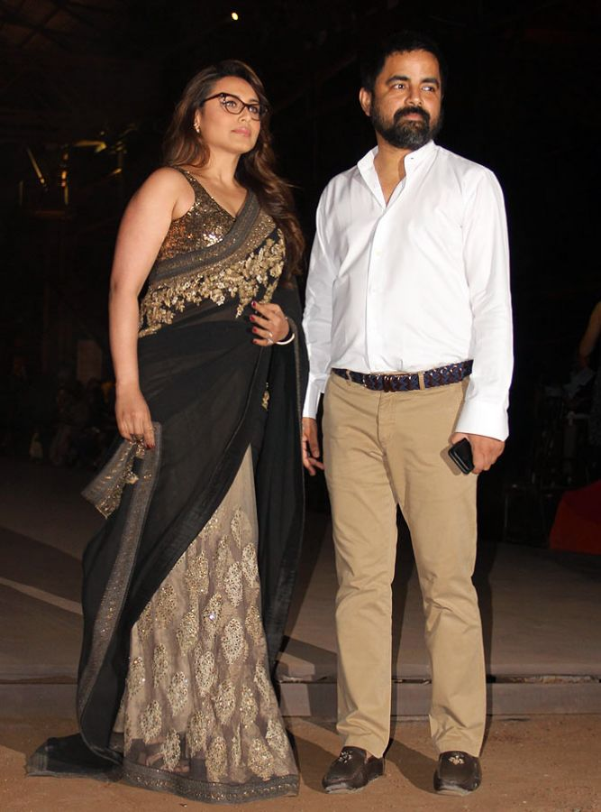 Rani Mukherjee with Sabyasachi Mukherjee