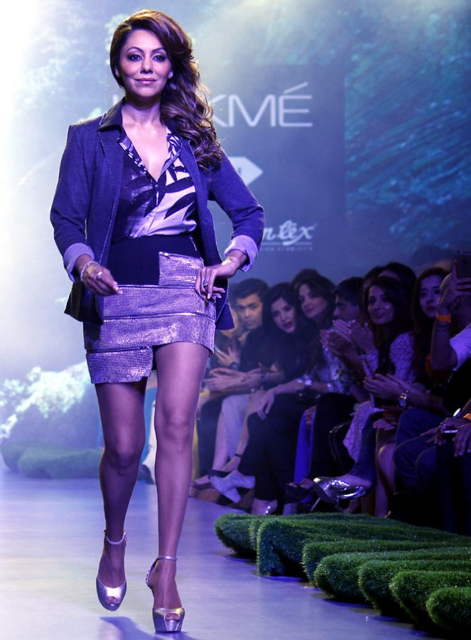 Gauri Khan at Lakme Fashion Week