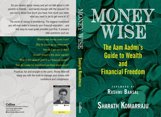 Book cover of Sharath Komarraju's book Money Wise