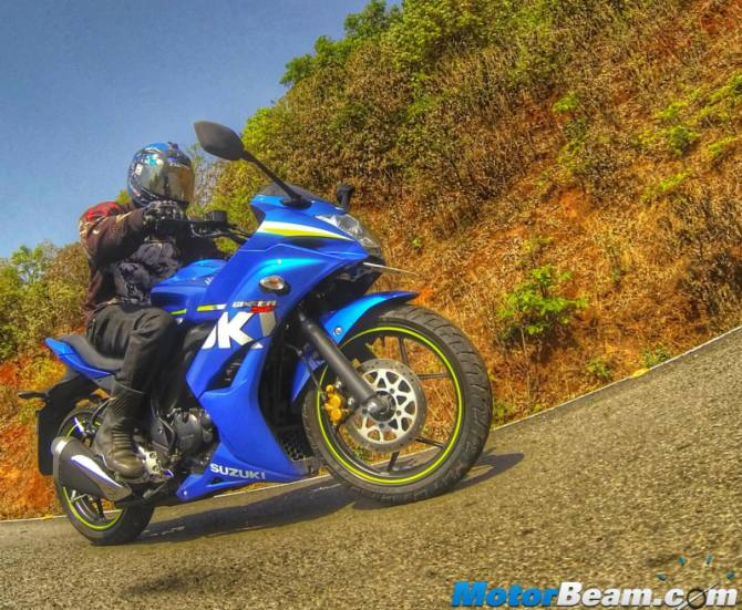 Suzuki Gixxer SF hits the bull's eye