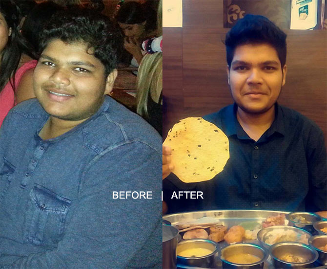 Devansh Sharma -- before and after