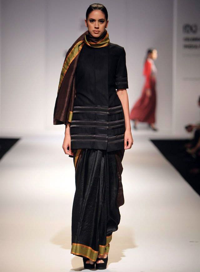 A model in Amalraj Sengupta creation