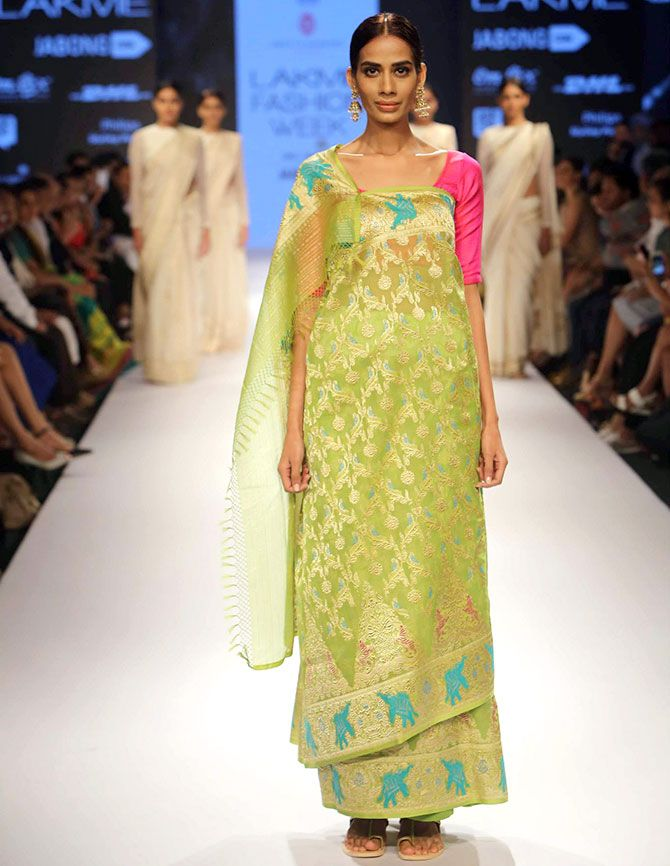 Sony Kaur in Shruti Sancheti creation