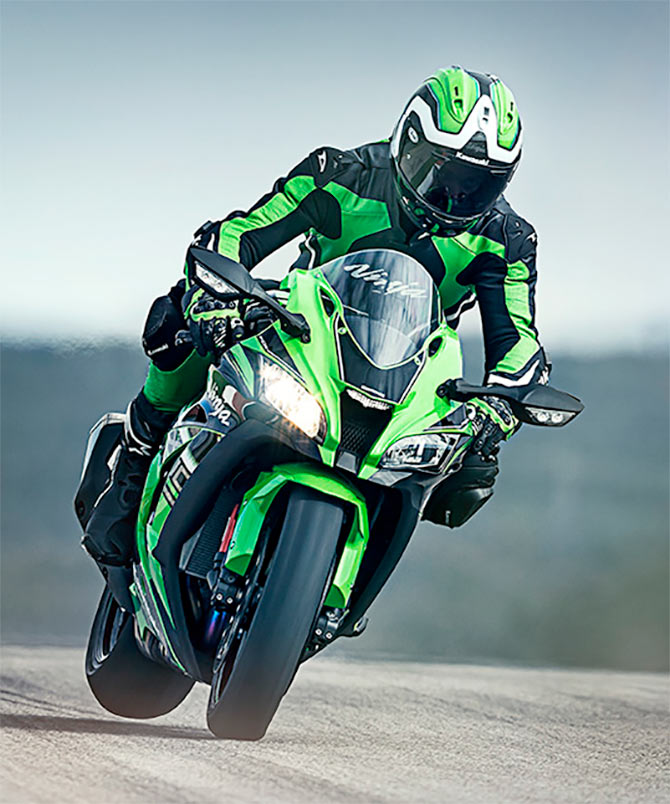 In Pics: The Kawasaki Ninja ZX-10R