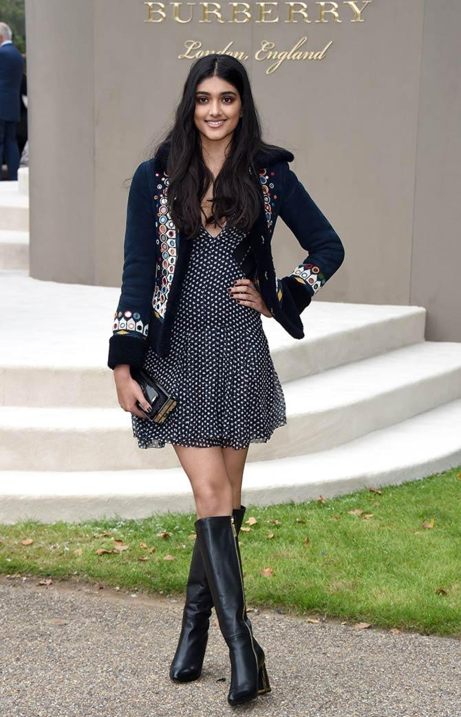 Spotted Nargis Fakhri At London Fashion Week Rediff Com Get Ahead