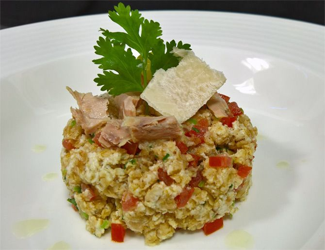 Oats and tuna khichdi by Chef Prashant Tikadia, The Fern Hotel, Ahmedabad